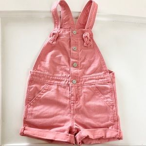 GAP Pink Denim Short Overalls 💞